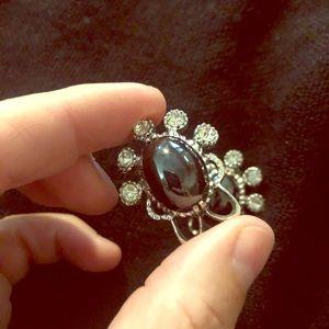 VNTG clip on earrings #206